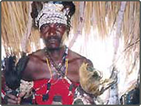 traditional healers  in Mozambique