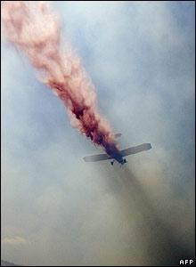 Avión israelí