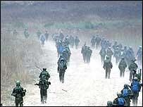 Israeli troops advance into southern Lebanon 12 Aug