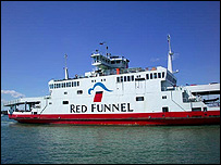 Red Funnel courtesy of freefoto.com
