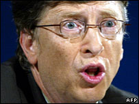 Microsoft chief Bill Gates