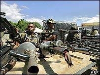 Colombian paramilitaries disarm