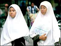 Malaysian women. File photo