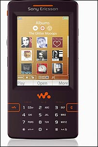 Sony Ericsson's W950 third-generation Walkman