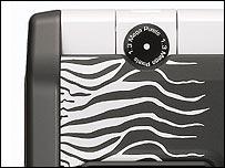 LG-U880, created by designer Roberto Cavalli