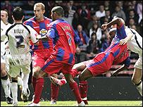 Morrison slams home the winner against Leeds