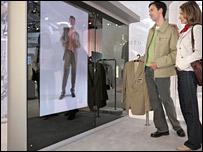 Virtual changing room