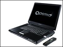 Qosmio laptop