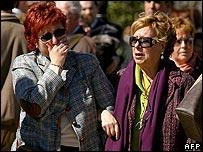ذوو ضحايا تفجيرات القطارات في مدريد