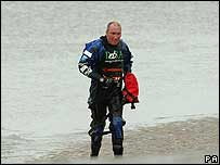 Charity river walker Graham Boanas