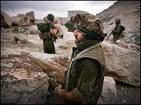 Israeli paratrooper in Lebanon