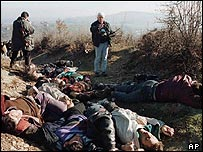 Massacre at Racak, Kosovo