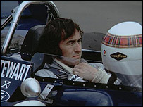 James Stewart ex piloto de F�rmula Uno