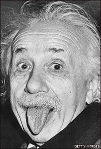La imagen ic�nica de Albert Einstein sacando la lengua