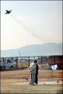 US warplane takes off from Iwakuni base