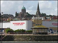 New Brighton skyline