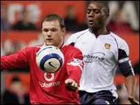 United striker Wayne Ronney