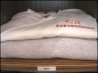 Patient tracksuits at Preventicum
