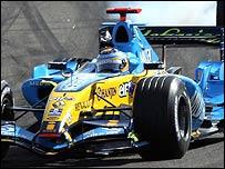 Fernando Alonso en camino de lograr un nuevo triunfo.