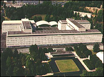 CIA headquarters at Langley, Virginia
