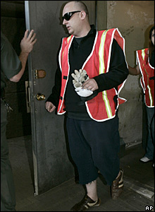 Boy George, about to perform community service in New York