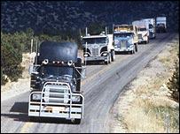 Scene from Convoy