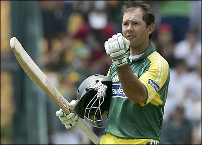Ricky Ponting hits 12 fours and nine sixes during an epic performance
