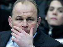 Andy Robinson watches on as England slump to defeat