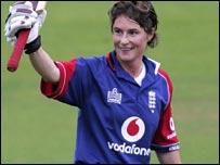 Claire Taylor celebrates her century