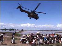Rescue in Mozambique