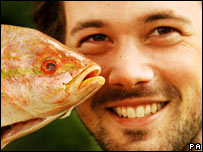 Ben Fillmore with fish