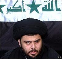 Radical Shia cleric Moqtada Sadr