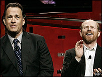 Tom Hanks and Ron Howard