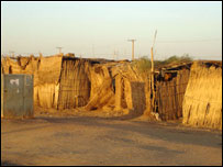 Soba Aradi Camp on the outskirts of Khartoum. ((Picture: Education Action)
