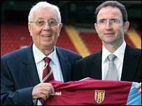 Doug Ellis and Martin O'Neill