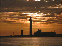 Grimsby dock tower (Picture: Roy Starling)