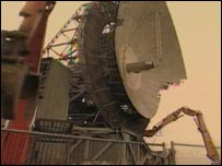 Antenna Two at Goonhilly