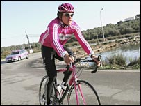 German cyclist Jan Ullrich