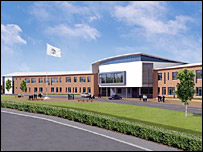Berwickshire High School artist's impression