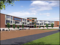 Earlston High School artist's impression