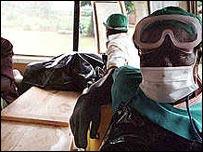 Ebola outbreak in Uganda