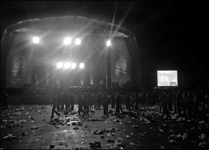 Matt Horwood snapped this shot at the end of the Big Weekend in Cardiff