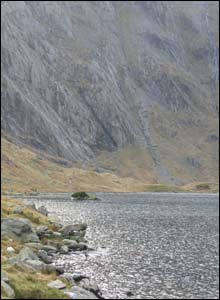 Llyn Idwal and the Devil's Kitchen in the background (Rachel Gordon)