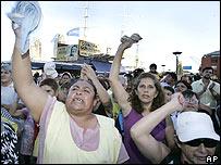 Comedores comunitarios en Buenos Aires.