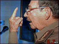 """Ra�l Castro: """"Comandante en Jefe"""" hay uno solo"""