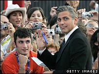 George Clooney, at the Venice Film Festival in 2005