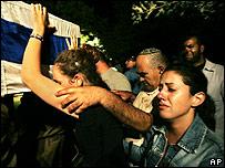 Funeral en Karmiel, Israel