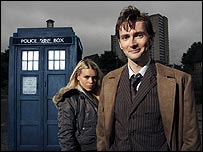 Billie Piper and David Tennant in Doctor Who