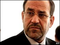 Iraqi Prime Minister Nouri Maliki, Baghdad, 15 August 2006