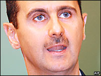 Presidente de Siria, Bashar al-Assad.